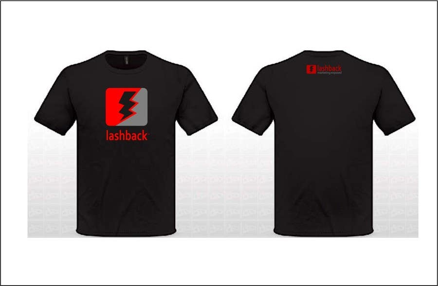 Inscrição nº 37 do Concurso para T-shirt Design for LashBack, LLC