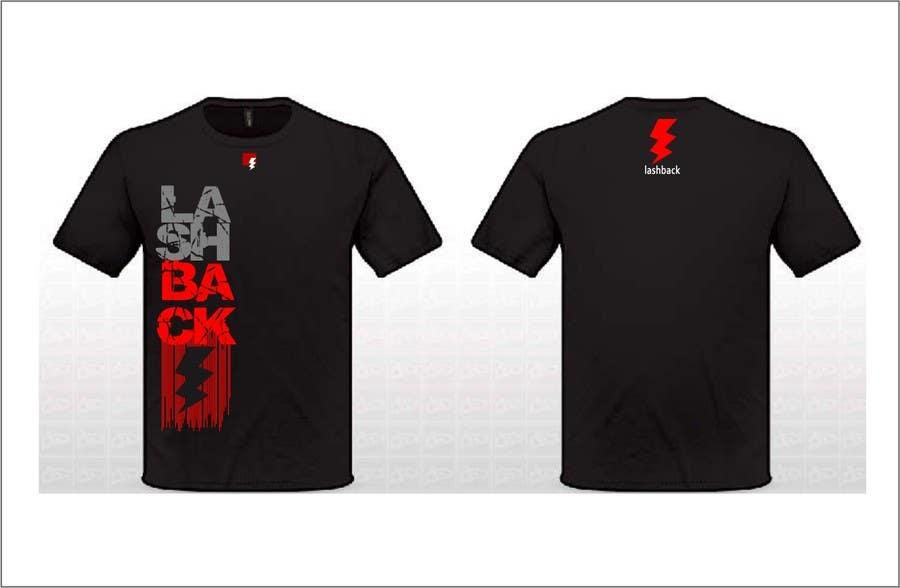 Inscrição nº 92 do Concurso para T-shirt Design for LashBack, LLC