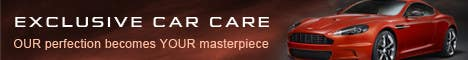 Penyertaan Peraduan #389 untuk Banner Ad Design for Exclusive Car Care