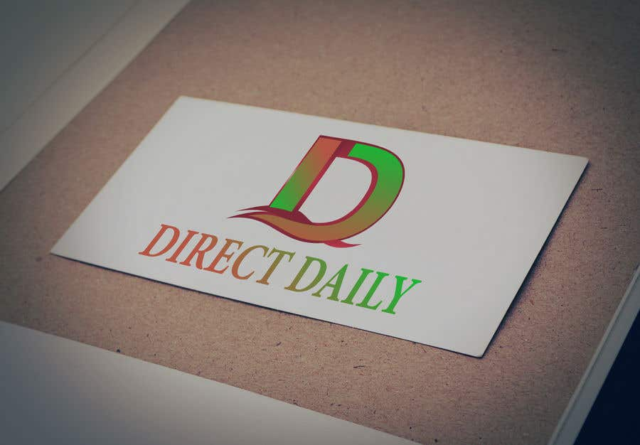 """Contest Entry #32 for Design a very simple logo for the company name """"Direct Daily"""""""