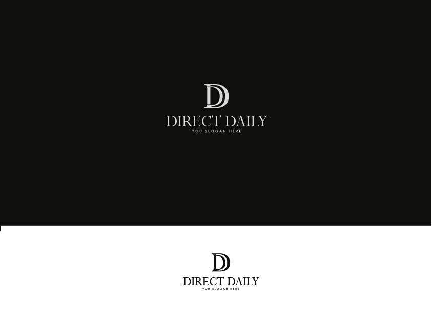 "Contest Entry #39 for Design a very simple logo for the company name ""Direct Daily"""