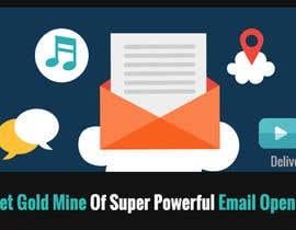 Nro 5 kilpailuun Design an Awesome Banner - Email Opening Lines käyttäjältä SmartBlackRose