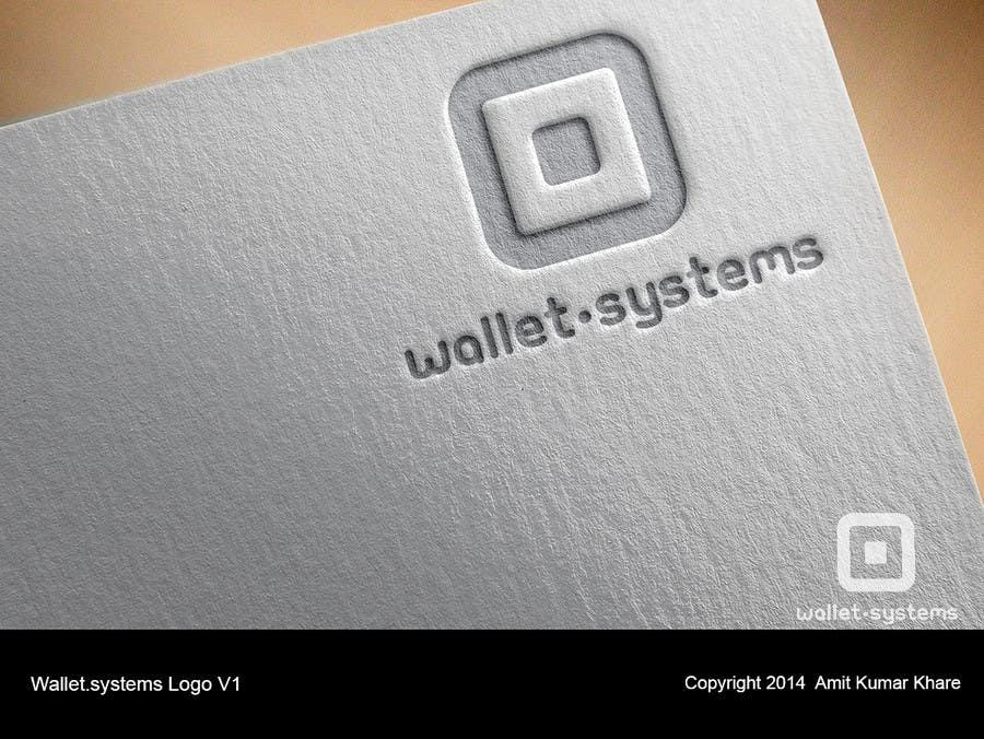 Penyertaan Peraduan #                                        13                                      untuk                                         Design a logo for wallet.systems