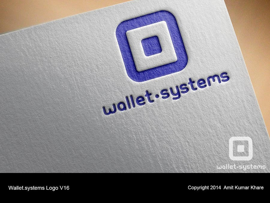 Penyertaan Peraduan #                                        83                                      untuk                                         Design a logo for wallet.systems