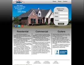 nº 21 pour Website Design for All Star Roofing par RobSmithSGWD