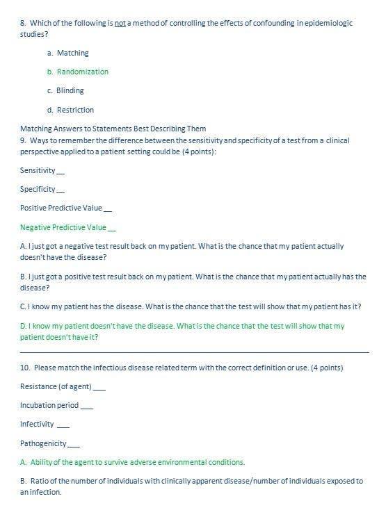 Proposition n°                                        13                                      du concours                                         epidemiology homework