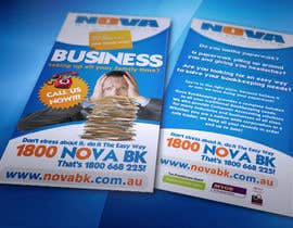 nº 13 pour Flyer Design for Nova Bookkeeping par creationz2011