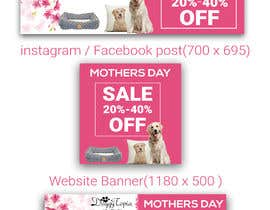 #36 for DoggyTopia Mothers Day Sale Marketing Design by rana63714