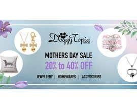 #32 for DoggyTopia Mothers Day Sale Marketing Design by kilibayeva