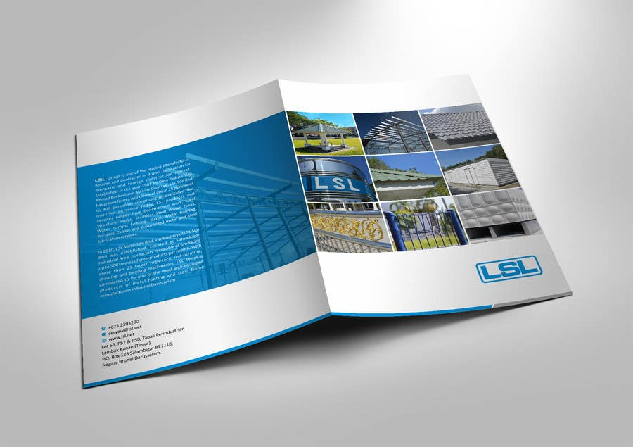 entry 44 by ezesol for design a a4 corporate brochure folder for