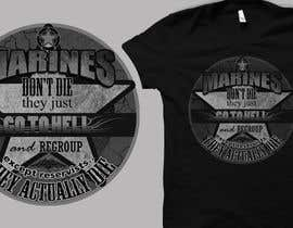 dherbert412 tarafından Design a T-Shirt for Marines için no 11