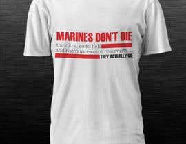 dsavio tarafından Design a T-Shirt for Marines için no 5