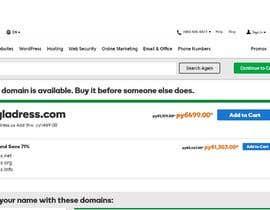 nº 53 pour Clothing Website name par sergreader