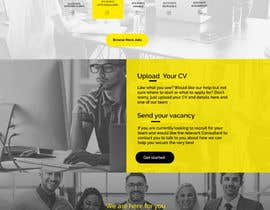 #14 cho Website Homepage Graphic Design - (ONE PAGE ONLY) bởi MagicalDesigner