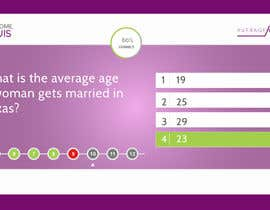 #29 for UI/UX Website Graphic Design for Quiz Game - Please Create Mockup by vaidehibala