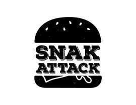 """#18 untuk Logo for food truck name """"Snak Attack"""" Colors not more than three colors oleh FVinas"""
