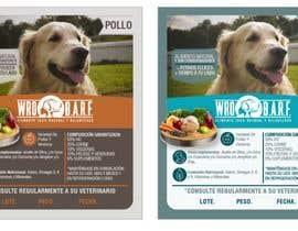 #10 for Etiqueta Comida Natural para perros af ElizabethDesign7
