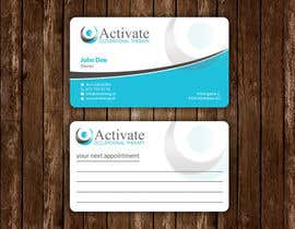 #37 untuk Design some Business Cards for Activate Occupational Therapy oleh smshahinhossen