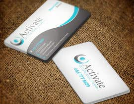 #64 untuk Design some Business Cards for Activate Occupational Therapy oleh nuhanenterprisei