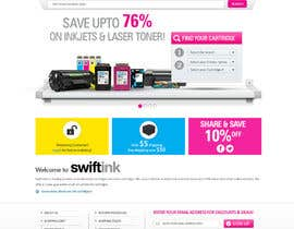 #33 para Website Design for Swift Ink por shoahmed