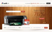 Graphic Design Konkurrenceindlæg #40 for Website Design for Swift Ink