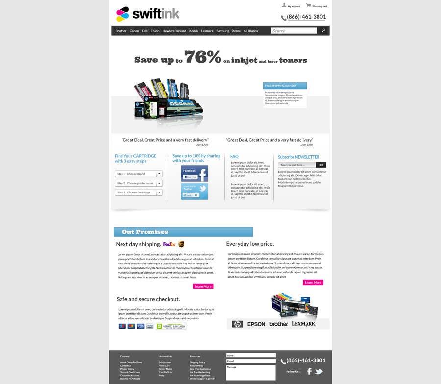 Konkurrenceindlæg #                                        30                                      for                                         Website Design for Swift Ink