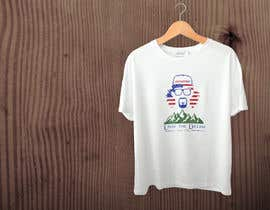 #32 for Merge a flag in this t-shirt design! by ashiksordar