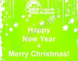 #6 para Design a Christmas greeting card por asturmirans8