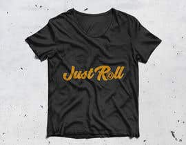 "#29 cho Jiu-jitsu shirt design. I need the words ""Just Roll"" drawn or custome font. bởi jablomy"