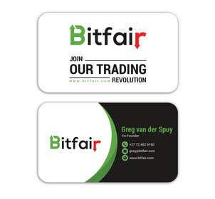 Image of                             Bitfair business cards