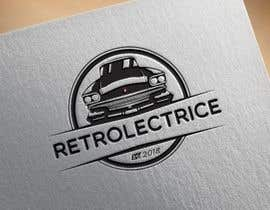 #24 untuk Retro auto electrician logo design oleh AionAnibSam