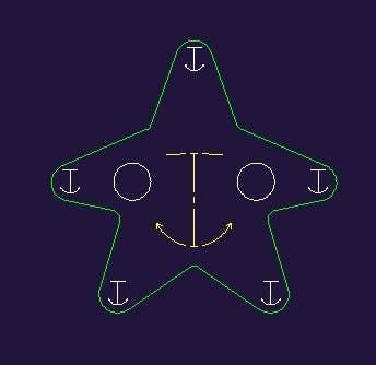 Inscrição nº                                         3                                      do Concurso para                                         I need some Graphic Design for a Star Fish vector