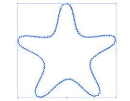 #2 para I need some Graphic Design for a Star Fish vector por laurentiufilon