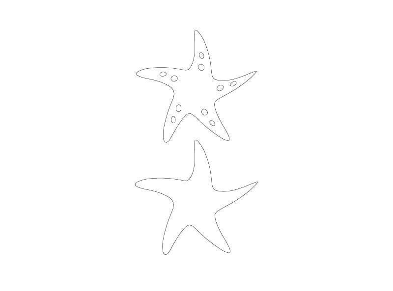 Inscrição nº                                         5                                      do Concurso para                                         I need some Graphic Design for a Star Fish vector