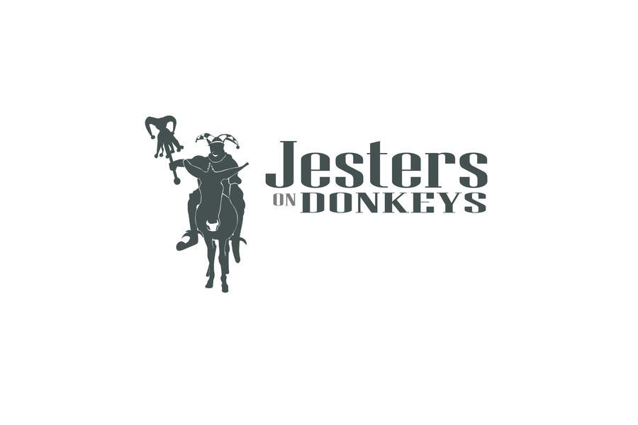 "Inscrição nº 77 do Concurso para This should be fun: ""Jesters on Donkeys"" looking for company logo design"
