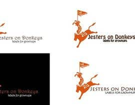 "vspriya tarafından This should be fun: ""Jesters on Donkeys"" looking for company logo design için no 69"