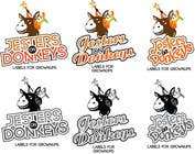 "Contest Entry #54 for This should be fun: ""Jesters on Donkeys"" looking for company logo design"