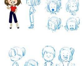 Nro 26 kilpailuun Draw a cartoon boy with 4 facial expressions käyttäjältä kellynya