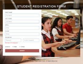 Nro 3 kilpailuun Simple website to register a course request and to create a database käyttäjältä thiyagarajantks