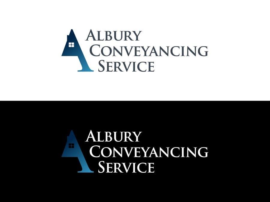 Konkurrenceindlæg #444 for Logo Design for Albury Conveyancing Service