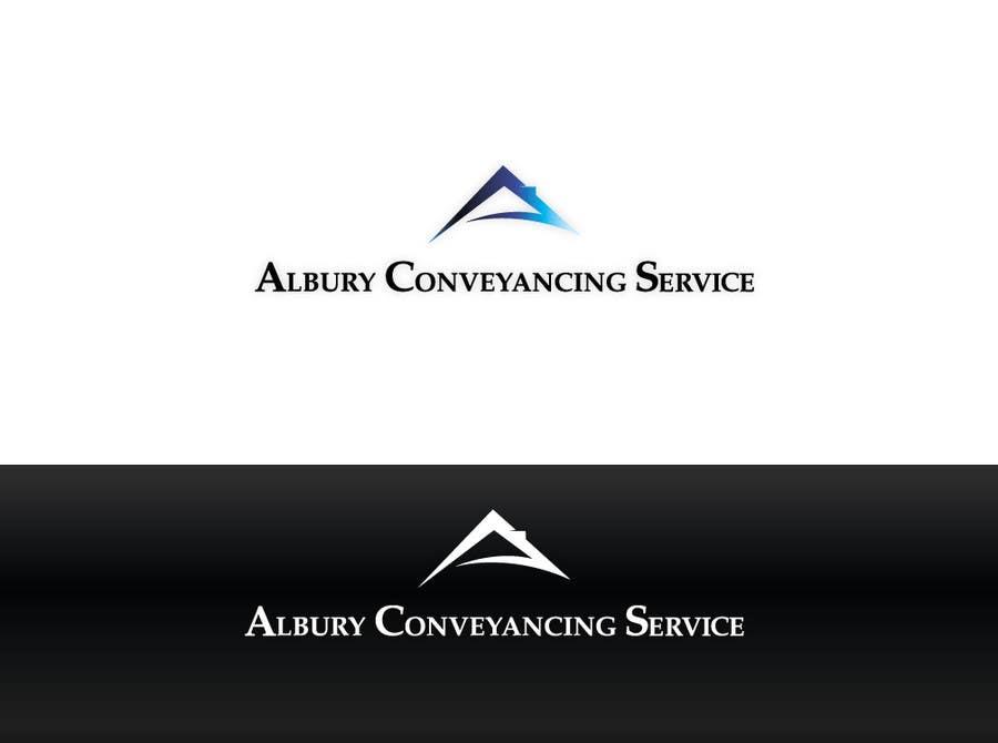Bài tham dự cuộc thi #                                        546                                      cho                                         Logo Design for Albury Conveyancing Service