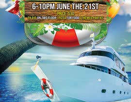 #41 for Design a flyer for a boat party by CreativeView1