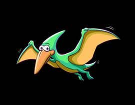 #97 for Company Logo - Cartoon Character (Mascot) - Pterodactyl (Flying Dinosaur) by darelbanua