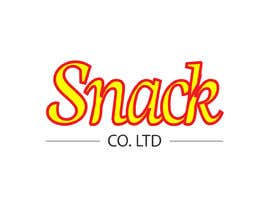 #80 for Design a Restaurant Company Logo - Snack Co. Ltd. by Tasnubapipasha