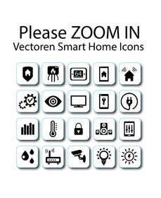 İzleyenin görüntüsü                             Vectoren Smart Home Icons for fl...