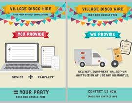 #20 for Village disco hire af tatisan