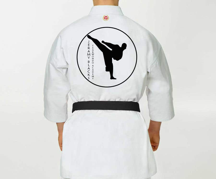 Entry #6 by deepeshbajra for DESIGN A PATCH FOR MARTIAL ARTS