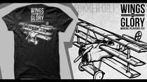 """Graphic Design Intrarea #4 pentru concursul """"Wings of Glory"""""""