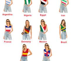 #219 for Design 10 World Cup 2018 Women T-Shirts by JULYAKTHER