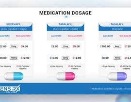 #23 untuk Medication  graphic dosage oleh rajchoudhary265